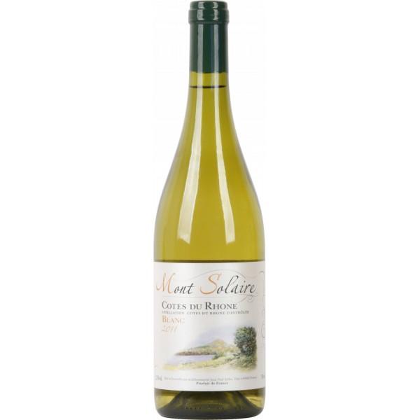 Вино Cotes du Rhone Mont Solaire Blanc 2011 0.75 л