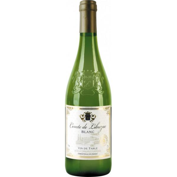 Вино Comte de Libuzac Blanc 0.75 л