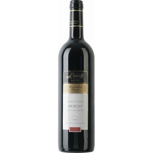 Вино Merlot Hawke's Bay Babich 2012 0.75 л