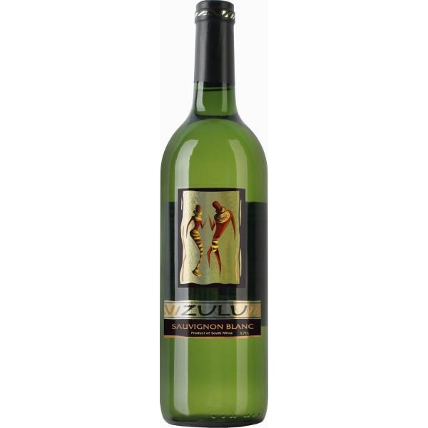 Вино Sauvignon Blanc Western Cape Zulu 0.75 л