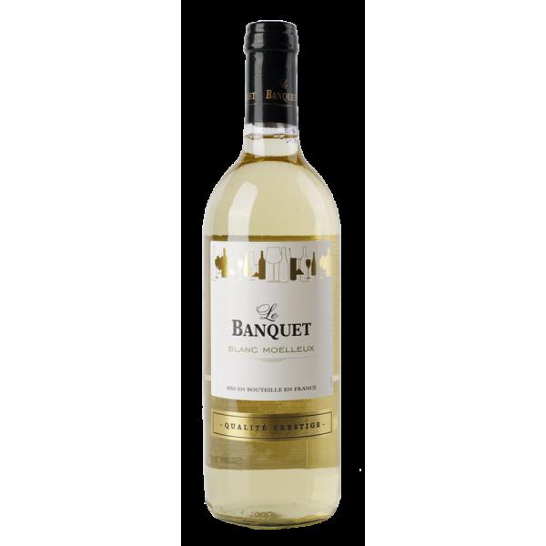 Вино Chantovent Le Banquet Blanc Mouelleux 0.75 л