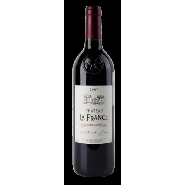 Вино Chateau La France Rouge 2008 0.75 л