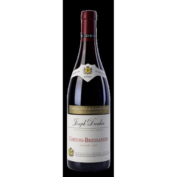 Вино Joseph Drouhin Corton Grand Cru Bressandes 2001 0.75 л