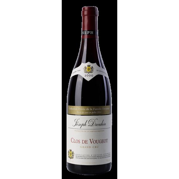 Вино Joseph Drouhin Clos de Vougeot Grand Cru 2000 0.75 л