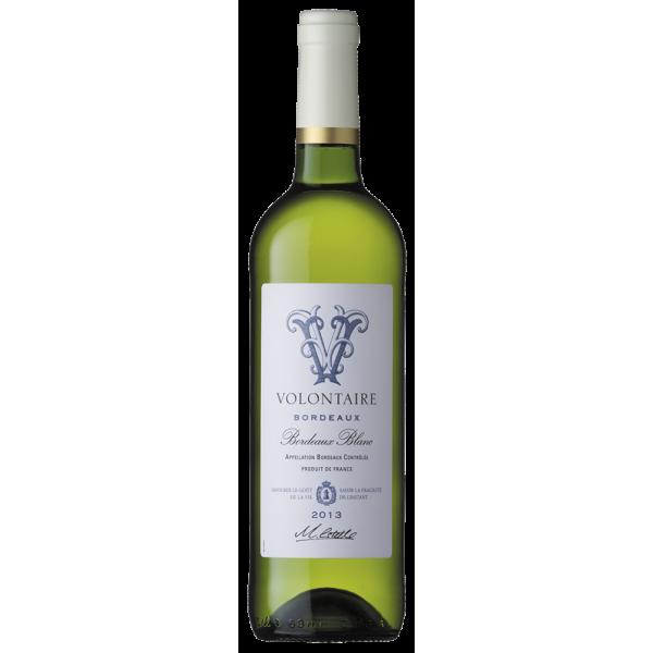 Вино Volontaire Blanc 2013 0.75 л