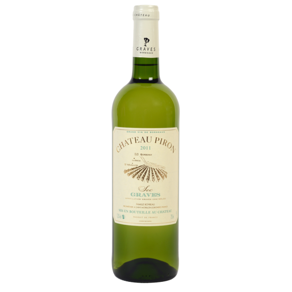 Вино Chateau Piron Blanc 2012 0.75 л