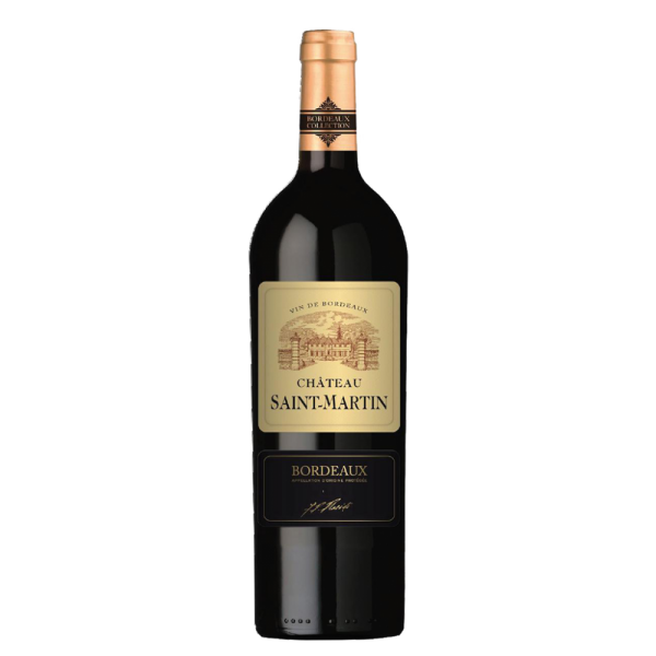 Вино Chateau Saint-Martin Rouge 2013 0.75 л