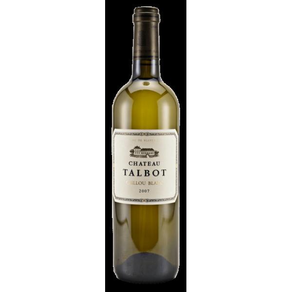 Вино Caillou Blanc du Chateau Talbot 2012 0.75 л