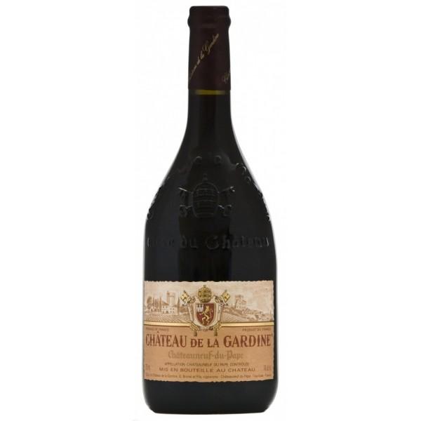 Вино Chateau de la Gardine Chateauneuf du Pape 2010 0.75 л