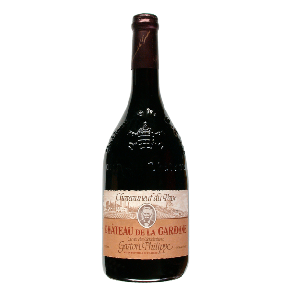 Вино Chateau de la Gardine Generations Gaston Philippe 2001 0.75 л
