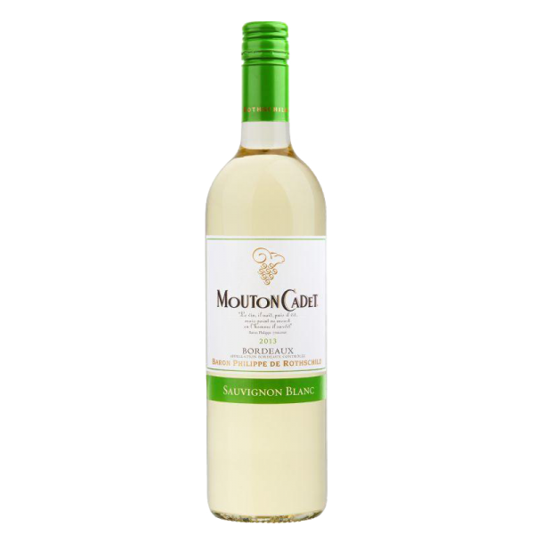 Вино Baron Philippe de Rothschild Mouton Cadet 2013 0.75 л