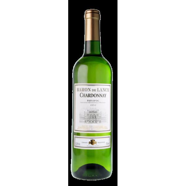 Вино Domaines Montariol Degroote Chardonnay Baron de Lance 2014 0.75 л