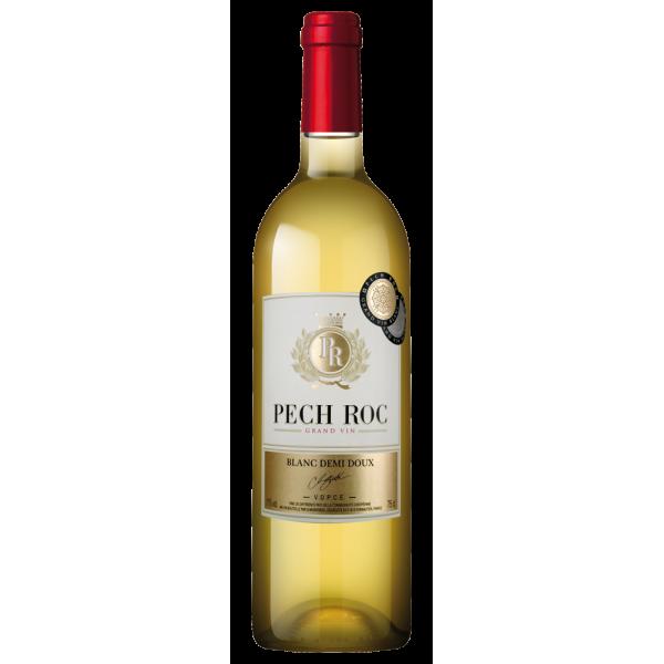Вино Domaines Montariol Degroote Pech Roc Blanc Demi Doux 0.75 л