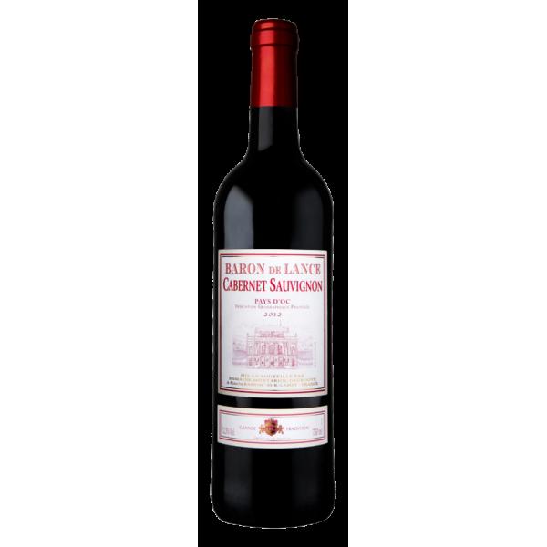 Вино Domaines Montariol Degroote Cabernet Baron de Lance 2013 0.75 л