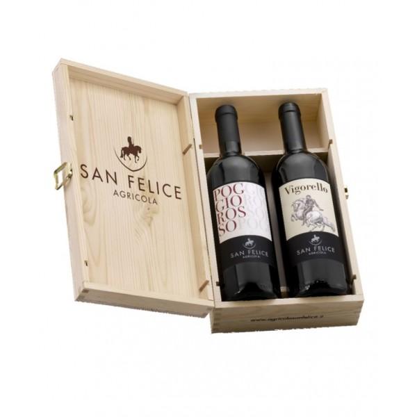 Вино Vigorello San Felice 2007 0.75 л