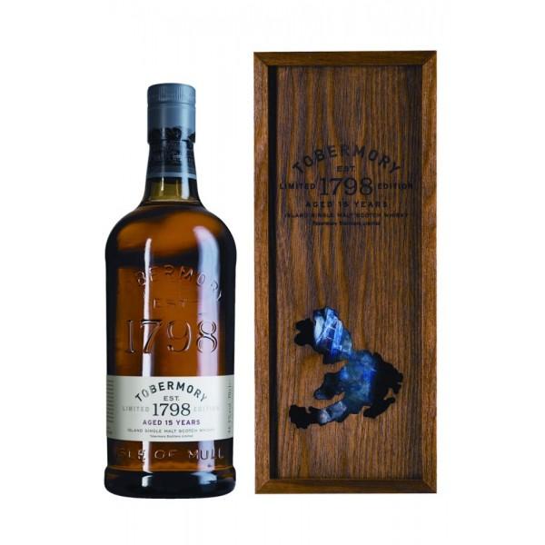 Виски Tobermory 15 Years Limited Edition 0.7 л