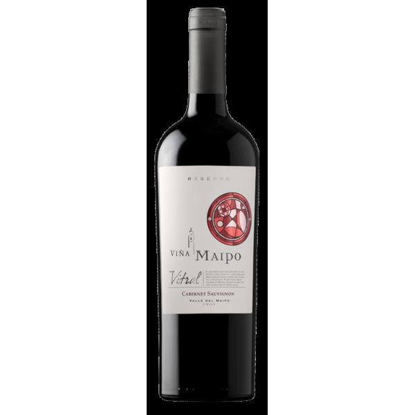 Вино Vitral Cabernet Sauvignon Reserva Vina Maipo 2012 0.75 л