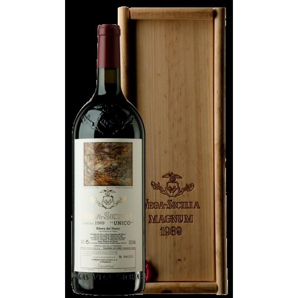 Вино Bodegas Vega Sicilia Unico Gran Reserva 1989 1.5 л