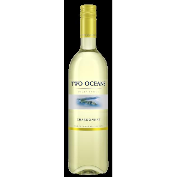 Вино Two Oceans Chardonnay Distell 2014 0.75 л