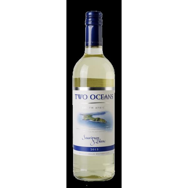 Вино Two Oceans Sauvignon Blanc Distell 2013 0.75 л