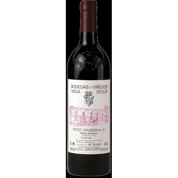 Вино Valbuena 5 Bodegas Vega Sicilia 2012 0.75 л