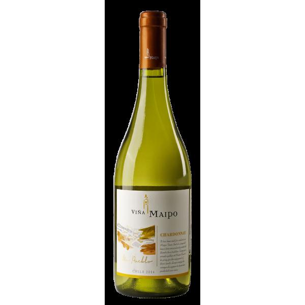 Вино Chardonnay Vina Maipo 2014 0.75 л