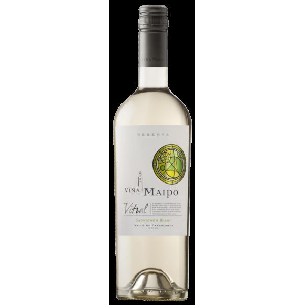 Вино Vitral Sauvignon Blanc Reserva Vina Maipo 2013 0.75 л