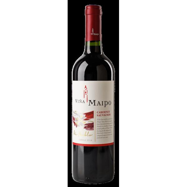 Вино Cabernet Sauvignon Vina Maipo 2014 0.75 л