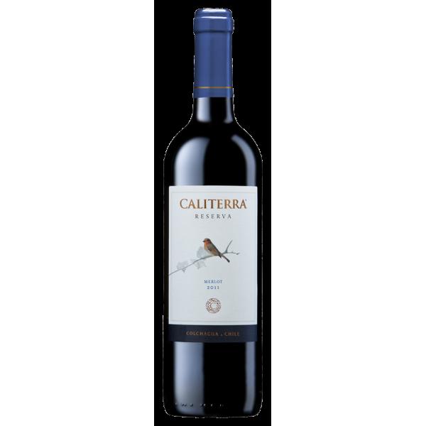 Вино Merlot Reserva Vina Caliterra 2013 0.75 л
