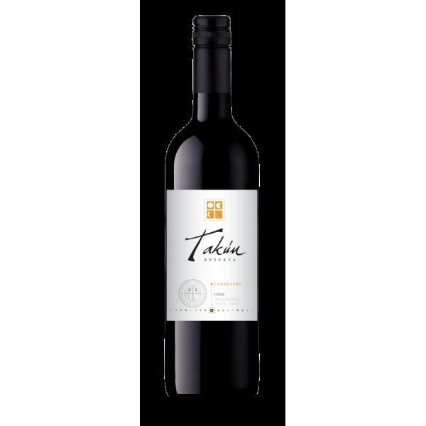 Вино Takun Carmenere Reserva Vina Caliterra 2012 0.75 л