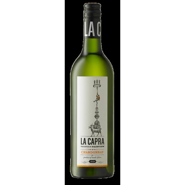 Вино La Capra Chardonnay Fairview 2014 0.75 л