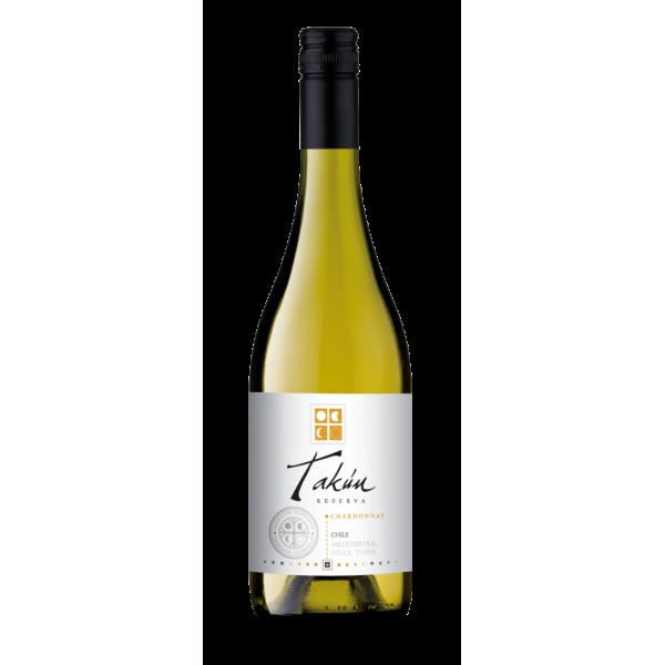 Вино Takun Chardonnay Reserva Vina Caliterra 2014 0.75 л