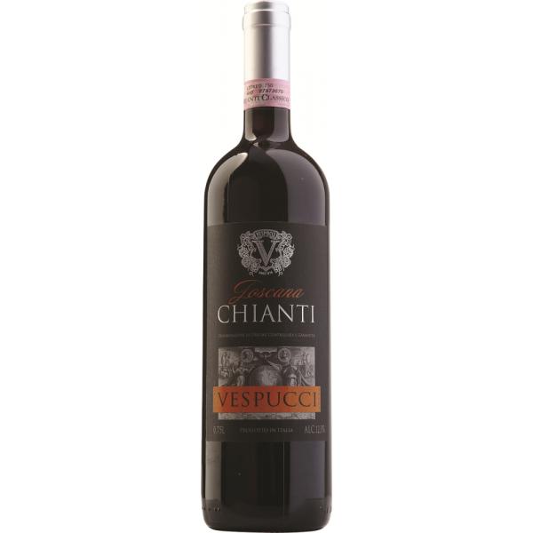 Вино Vespucci Chianti 2013 0.75 л