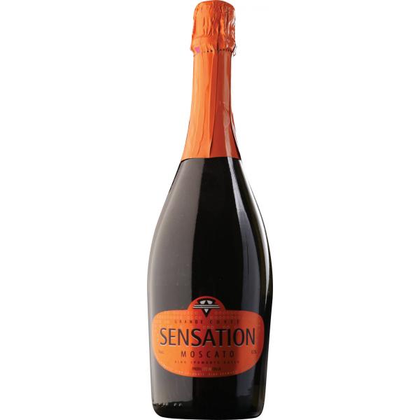 Шампанское Sensation Moscato Spumante 0.75 л