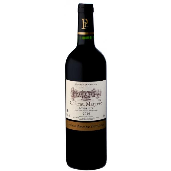 Вино Chateau Marjosse Bordeaux 2010 0.75 л