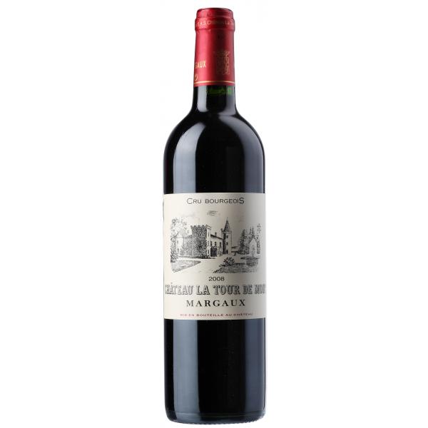 Вино Chateau La Tour de Mons Cru Bourgeois Margaux 2008 0.75 л