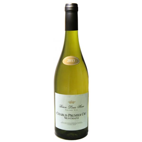 Вино Chablis Premier Cru Montmains 2011 0.75 л
