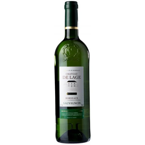 Вино Sauvignon Bordeaux Chateau de Lage 2011 0.75 л