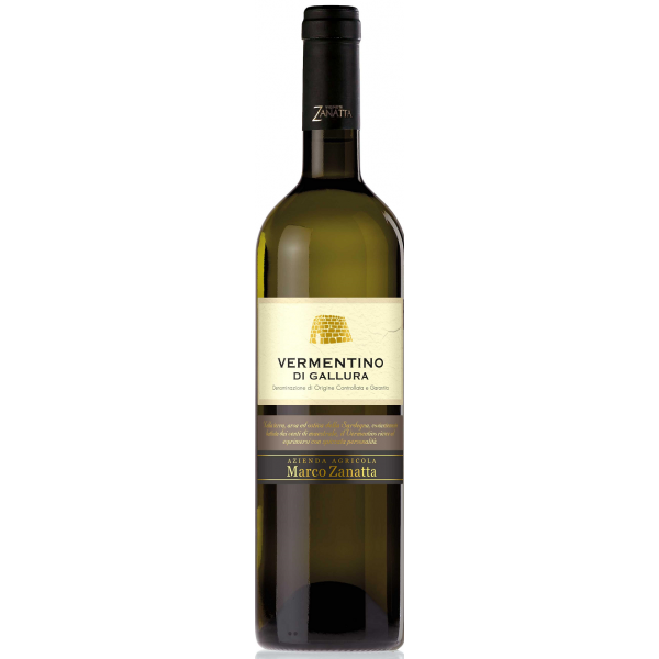 Вино Vermentino di Gallura 2015 0.75 л