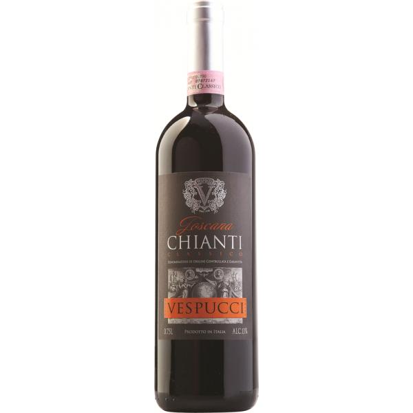 Вино Vespucci Chianti Classico 2013 0.75 л