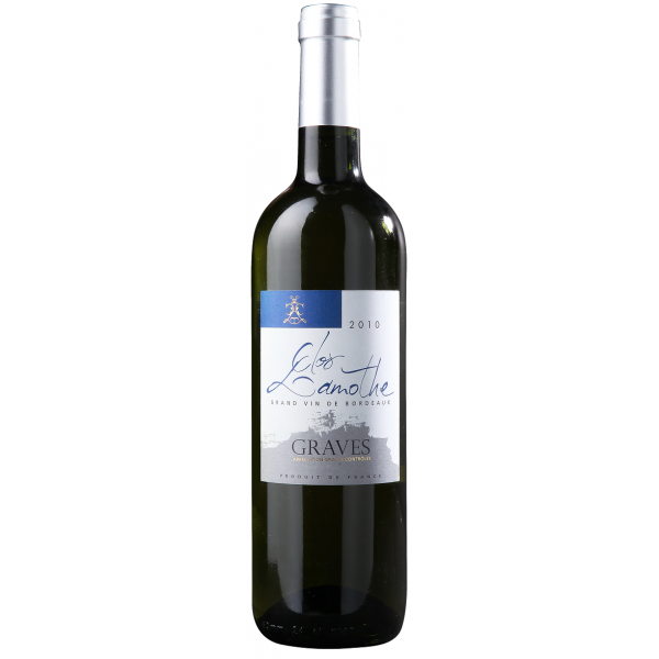 Вино Clos Lamothe Graves Blanc 2015 0.75 л