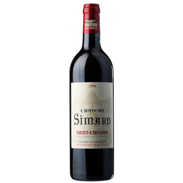 Вино Chateau Simard Saint Emilion 2007 0.75 л