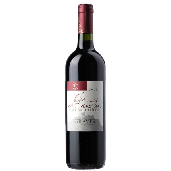 Вино Clos Lamothe Graves Rouge 2013 0.75 л