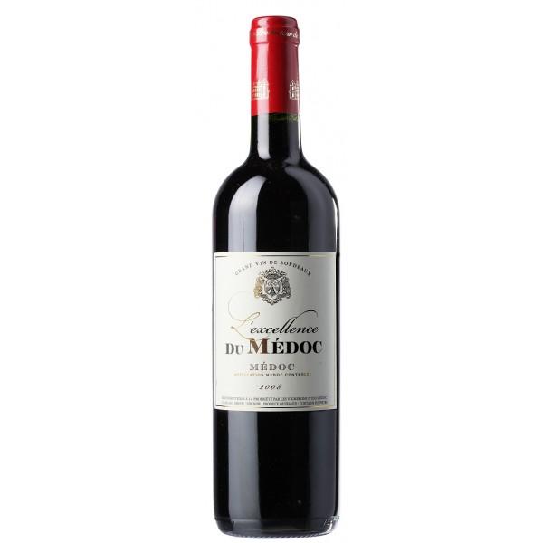 Вино Excellence du Medoc 2008 0.75 л