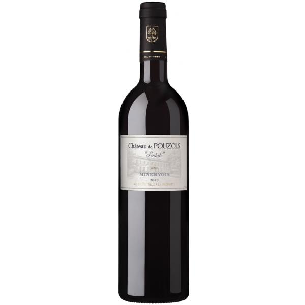 Вино Sodali Chateau de Pouzols Minervois 2010 0.75 л