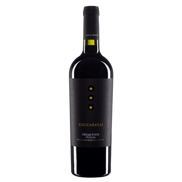 Вино Primitivo Puglia Luccarelli IGP 2017