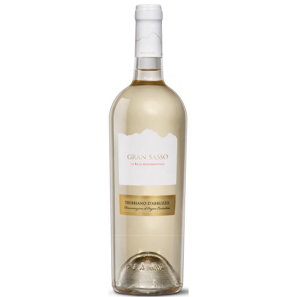 Вино Trebbiano d'Abruzzo La Bella Addormentata Gran Sasso 2016 0.75 л