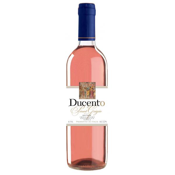 Вино Ducento Pinot Grigio Rose 0.75 л