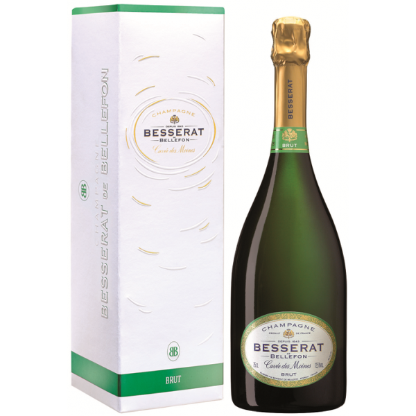 Шампанское Brut Cuvee des Moines Besserat de Bellefon 0.375 л