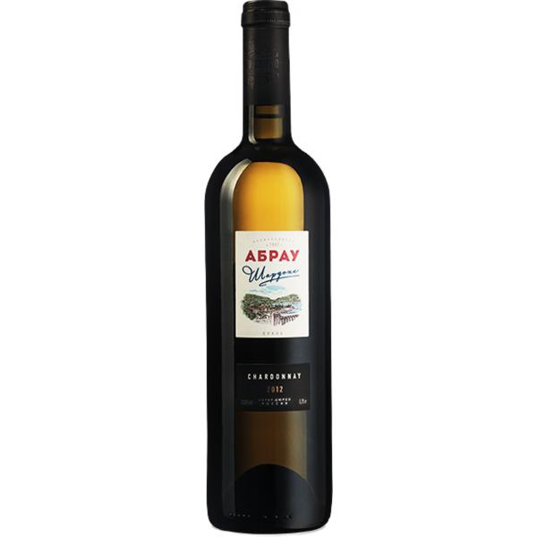 Вино Шардоне Абрау Белое Сухое 2013 0.75 л